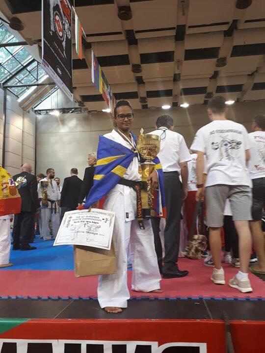 Ludivine Vedapodagom, championne des - de 55kg