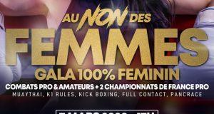 Affiche AU NON DES FEMMES